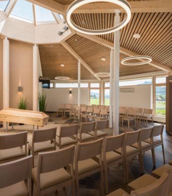 Markussaal von Innen