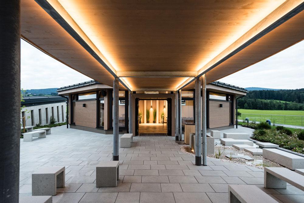 Markussaal Innenhof